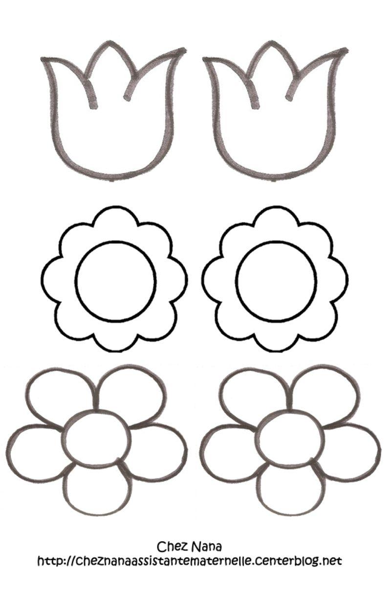 Activit s manuelles chez nana ass mat page 9 - Fleur en coloriage ...
